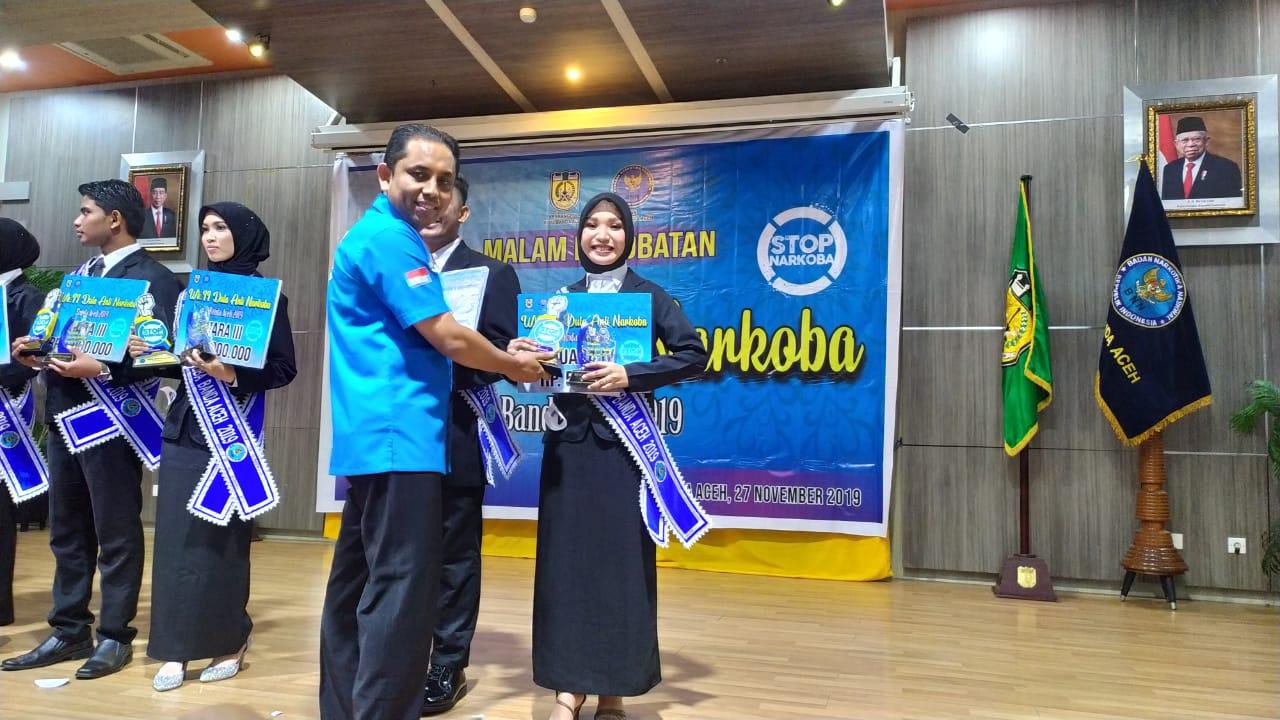Mahasiswi Pgsd Raih Juara I Duta Anti Narkoba Kota Banda Aceh 2019 Juga Juara Harapan I Oleh Mahasiswi Fkm Universitas Serambi Mekkah Universitas Serambi Mekkah