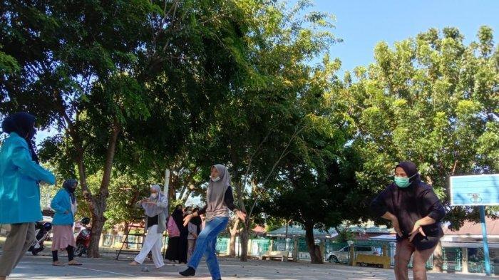 Mahasiswa Sejarah USM Bina Sanggar Desa Geuceu Kompleks Banda Aceh